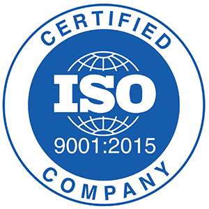 ISO 9001:2015 Certified Company.